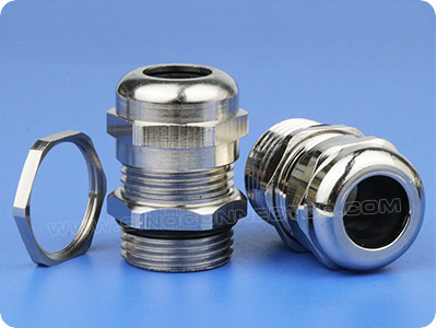 Waterproof Brass Cable Gland (Long Metric Thread)