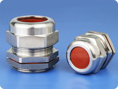Stainless Steel Cable Gland with Viton Seals