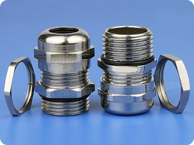 Watertight Metallic Cable Gland (Long PG Thread)