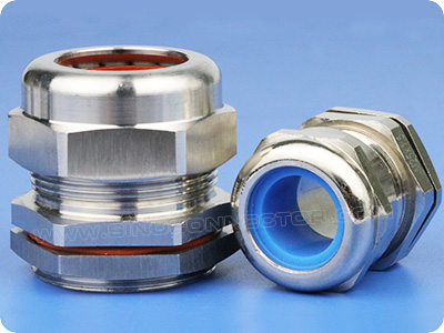Stainless Steel Cable Glands with Silicone Seal Rings (G Thread)
