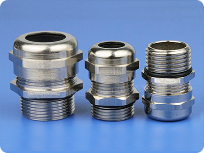 Metal Strain Relief Dome Fitting (NPT Taper Thread)