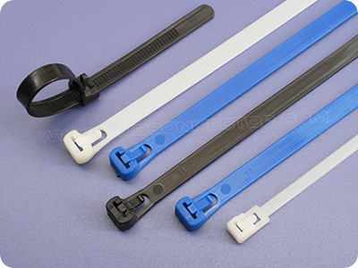Releasable (Reusable) Cable Ties