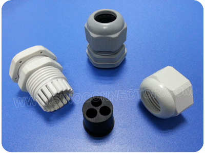 Nylon Multi-Entry Cable Glands (Short Metric Thread)