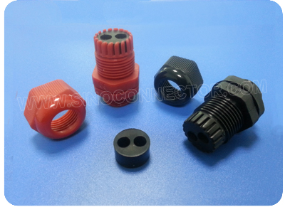 Plastic Multi-hole Cord Grips (NPT Thread)