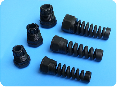 Divided Type Nylon Cable Glands with Cable Protector (PG Thread)