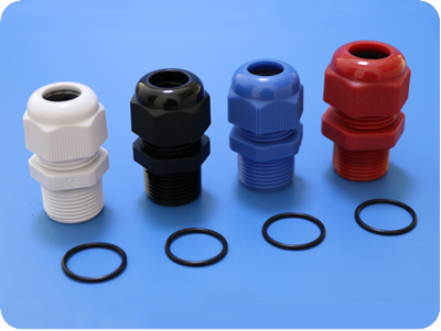 Polyamide Dome Cap Cord Connector (NPT Thread)