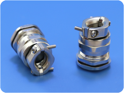 Metal Cable Glands with Pull Relief Clamp (Short PG Thread)